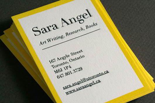 yellow-letterpress-card