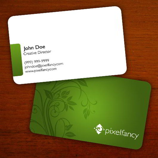 30 elegantly designed free business card templates skytechgeek floral business card psd reheart Gallery
