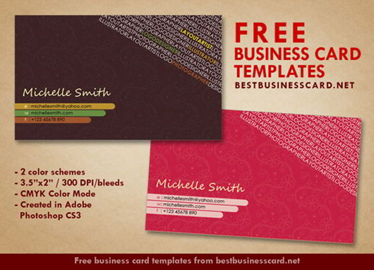30 elegantly designed free business card templates skytechgeek artist business card templates colourmoves