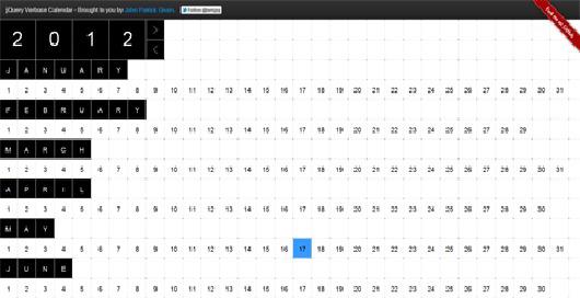how to add calendar using jquery