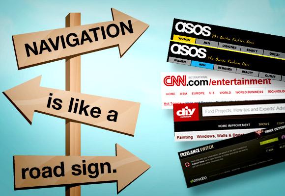 JQuery Navigation Menu