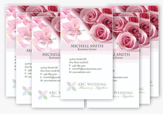 30 elegantly designed free business card templates skytechgeek elegant wedding business card template fbccfo Choice Image