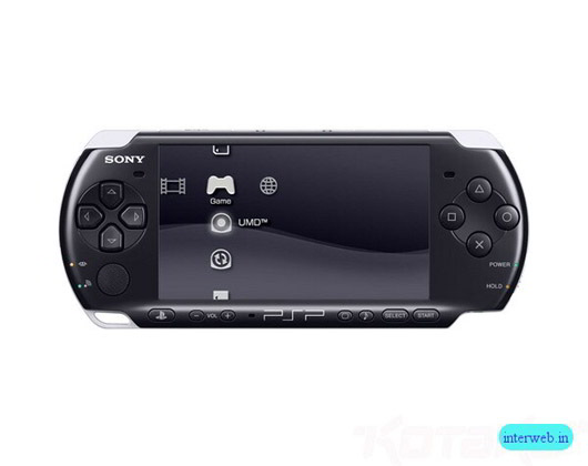 Sony PSP 3000 black Console