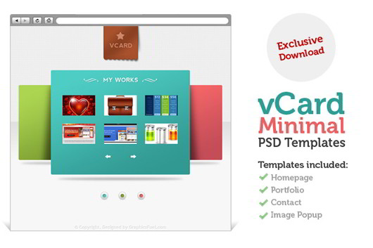 vcard-minimal-template