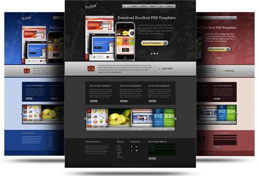 website-psd-template