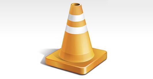 PSD_Orange_Traffic_Cone