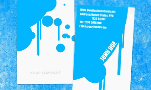 painter-business-card
