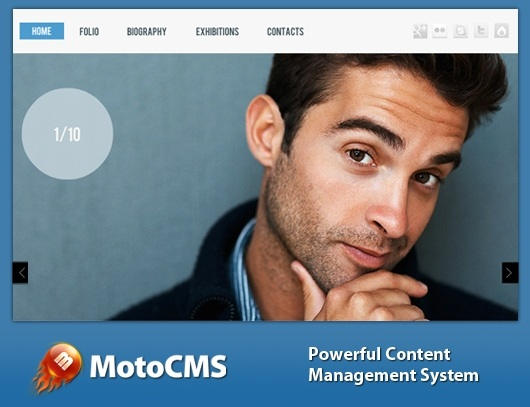MotoCMS Flash Templates and HTML5 Templates