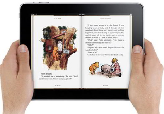 book apps in ipad