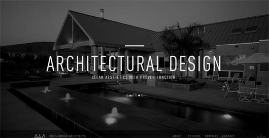 diehl_group_architects_typography