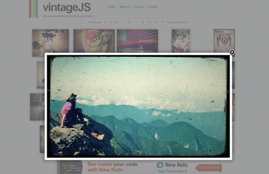 vintage-js
