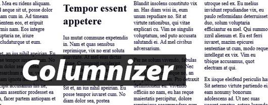 columnizer-jquery-plugin