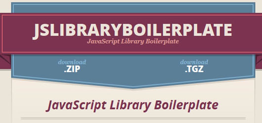 javascript-library-boilerplate