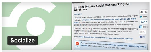 socialize-wordpress-plugin
