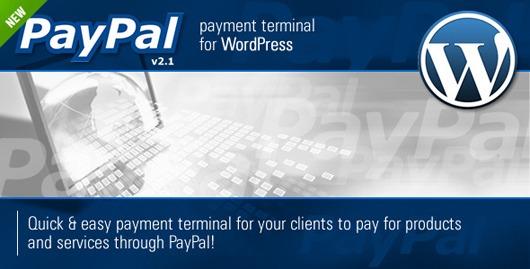 01.PayPal Payment Terminal WordPress