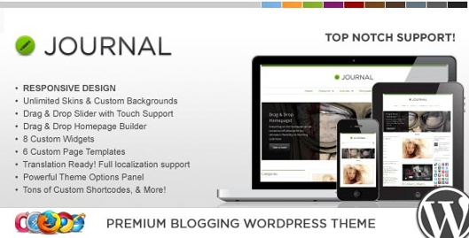 9.WP Journal Responsive WordPress Theme
