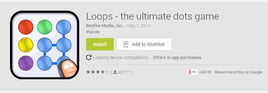 loops dot game