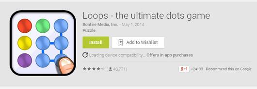 loops dot game