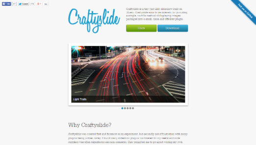 Craftslide Plugin