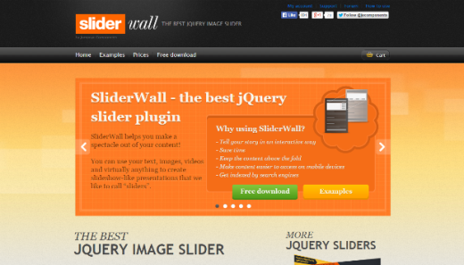 SliderWall Plugin