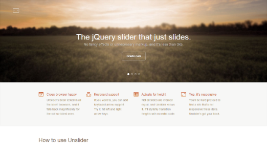 Unslider Slider Plugin