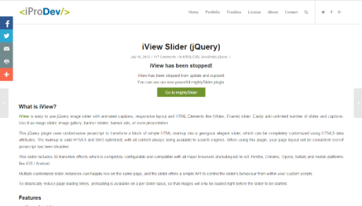 iView Slider