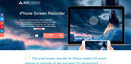 acethinker-iphone-screen-recorder