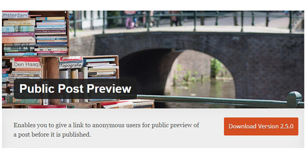 public-post-preview-wordpress-plugins
