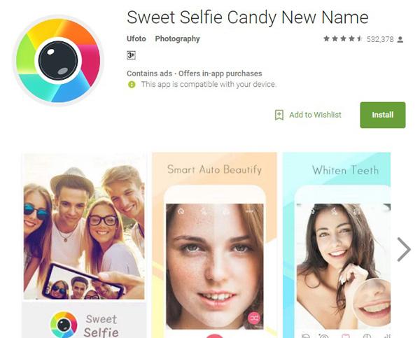 sweet selfie candy