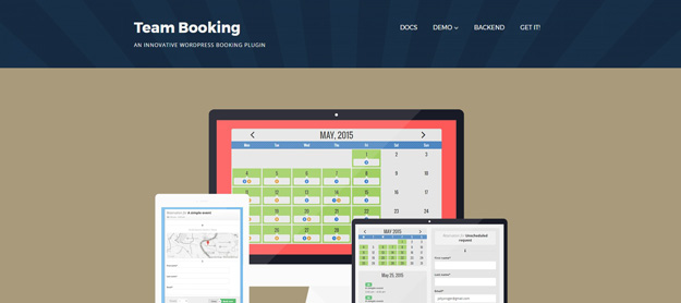 team booking