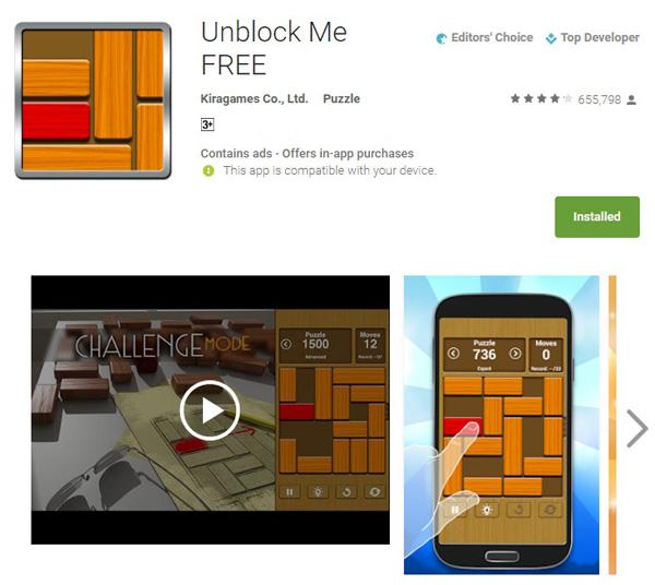 unblock me game online free