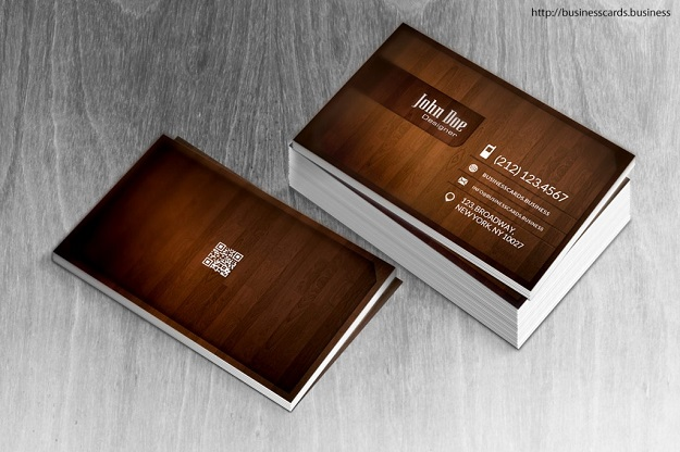 wood-business-card-mockup