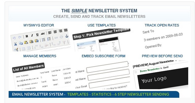 newsletter system