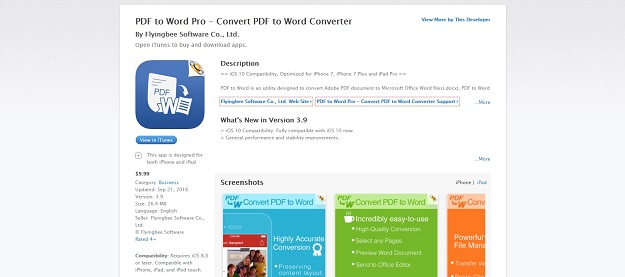pdf to word pro