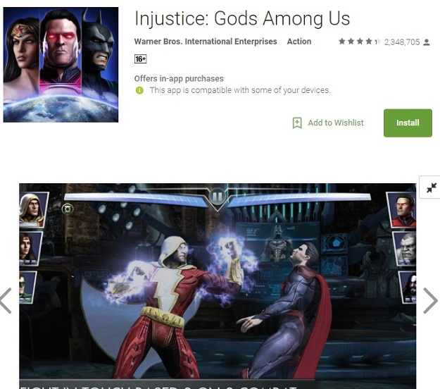 injustice god among us