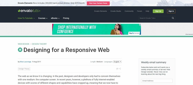 Turning any Website to a Responsive Site