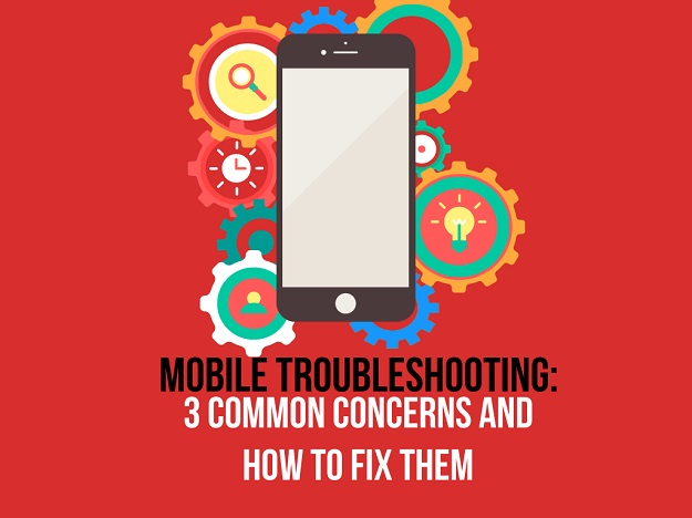 Mobile trouble shooting