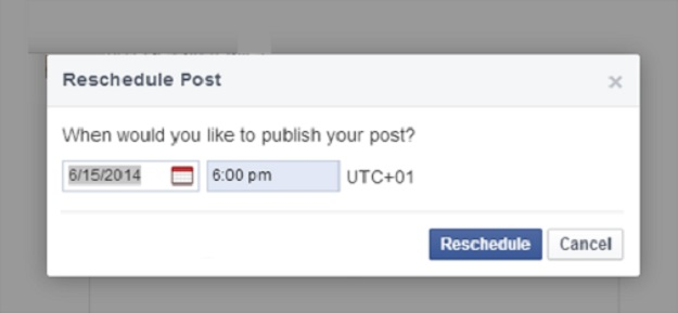 Schedule Your Facebook Content Wisely