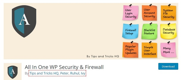 all in one wp security and firewal