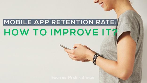 mobile app rentation rate