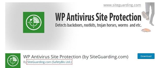 wp antivirus security