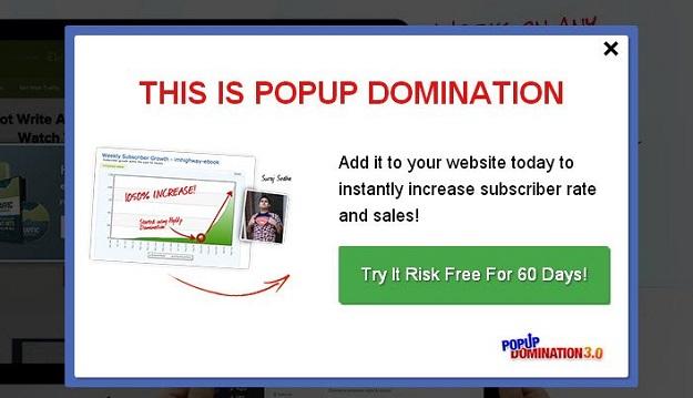 pop up domination