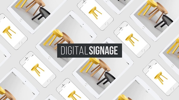 digital sign system