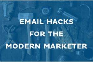 email hack for the modern marketing