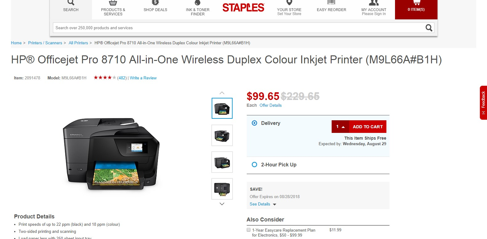 Black Friday Sale Staples Get Upto 50 Discount Across All